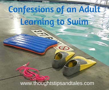 Confessions of an Adult Learning to Swim