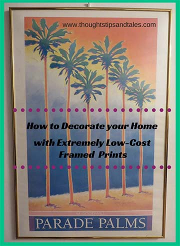 How to Decorate your Home with Extremely Low-Cost Prints