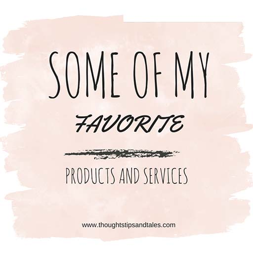 Some of my favorite products and services