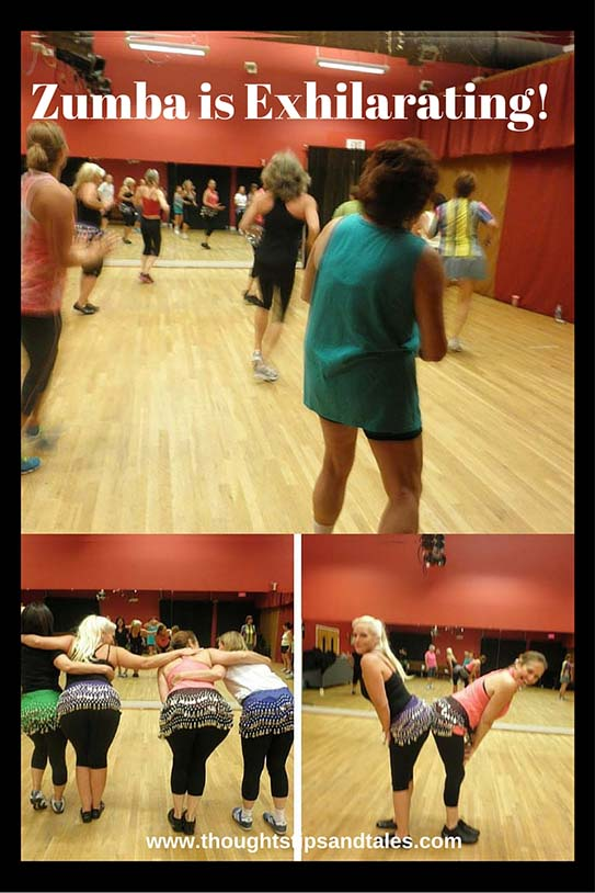 Zumba is Exhilarating!