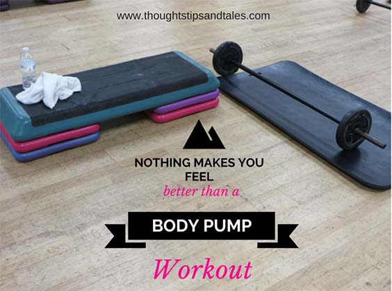 Nothing Makes You Feel Better than a BODY PUMP Wiorkout