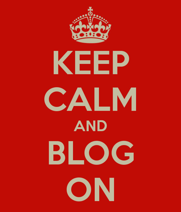 Keep Clam and Blog On