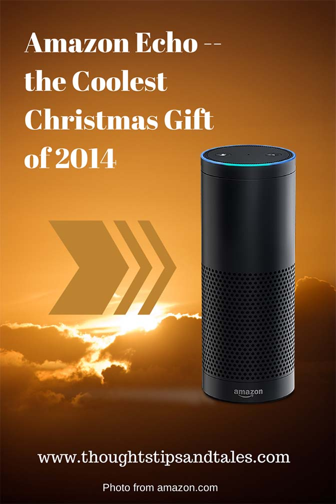 Amazon Echo -- the Best Christmas Gift of 2014