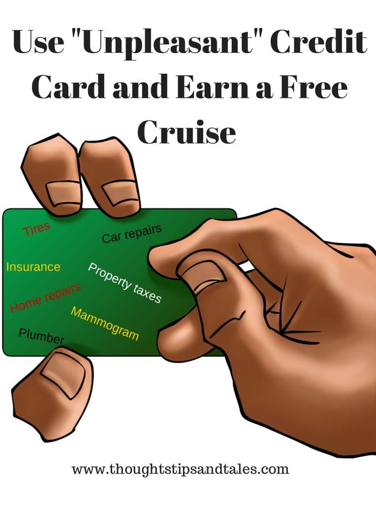 Unpleasant credit card
