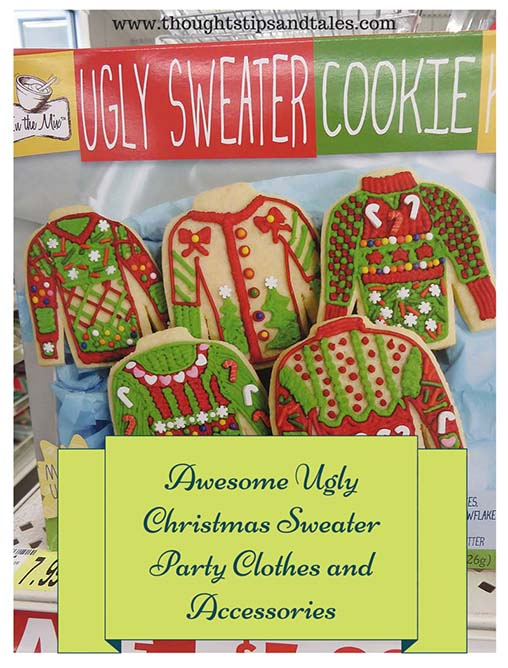 Awesome Ugly Christmas Sweater Party Clothes and Accessories