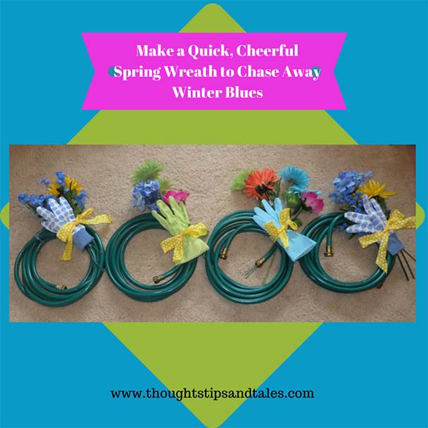 Make a Quick, Cheerful Spring Wreath