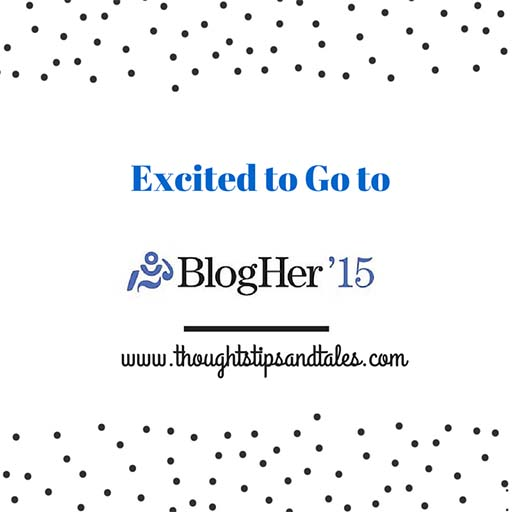 Excited to go to BlogHer 2015 Conference in NYC
