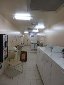 Regal Princess onboard laundromat