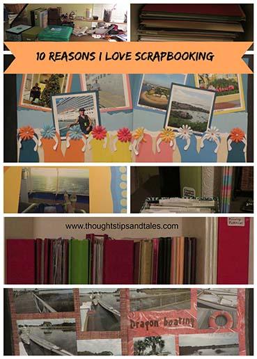 10 ReasonWhy I Love Scrapbooking