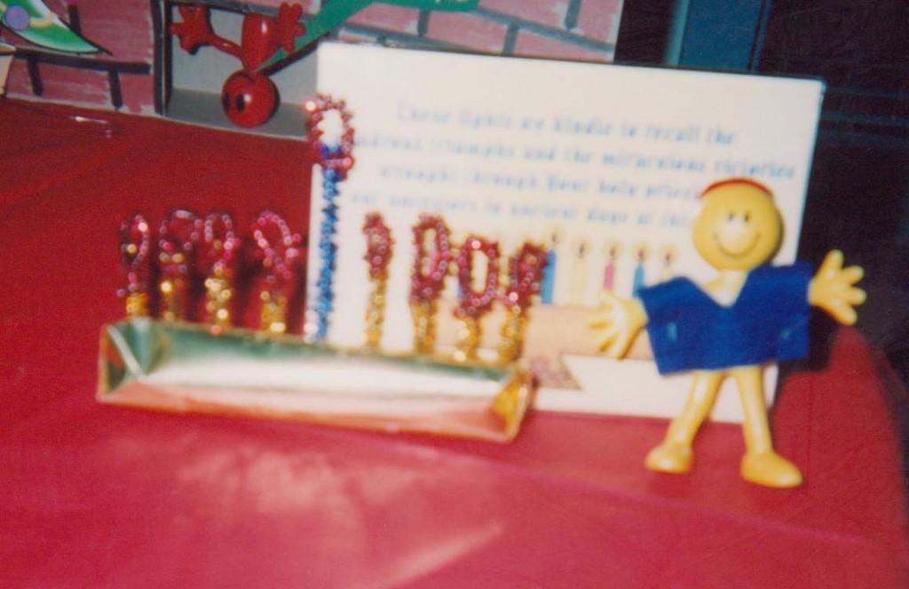 Hanukkah doll