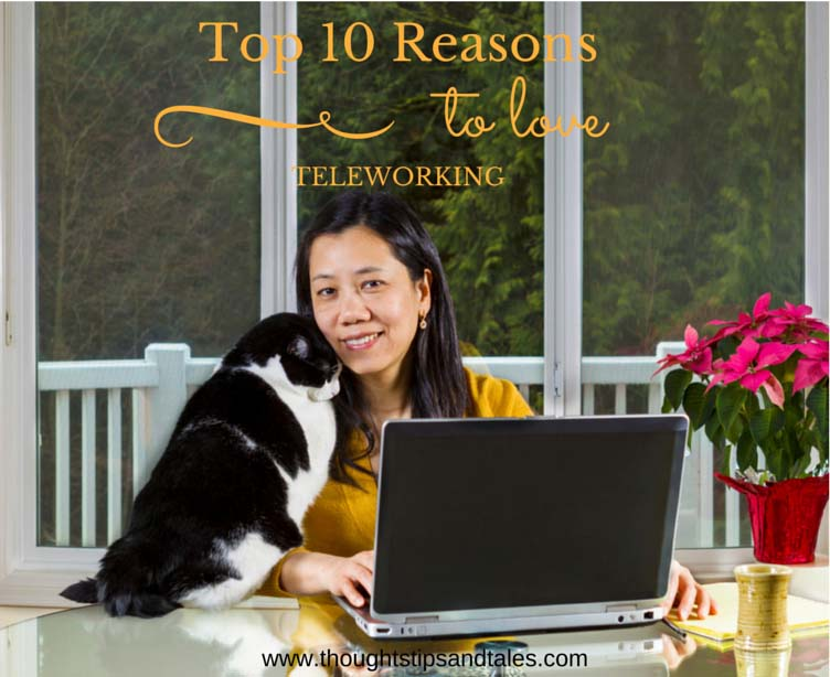Top 10 Reasons to Love Teleworking