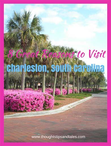 Eight Great Reasons to Visit Charleston South Carolina