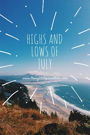 High and Lows of july 2015