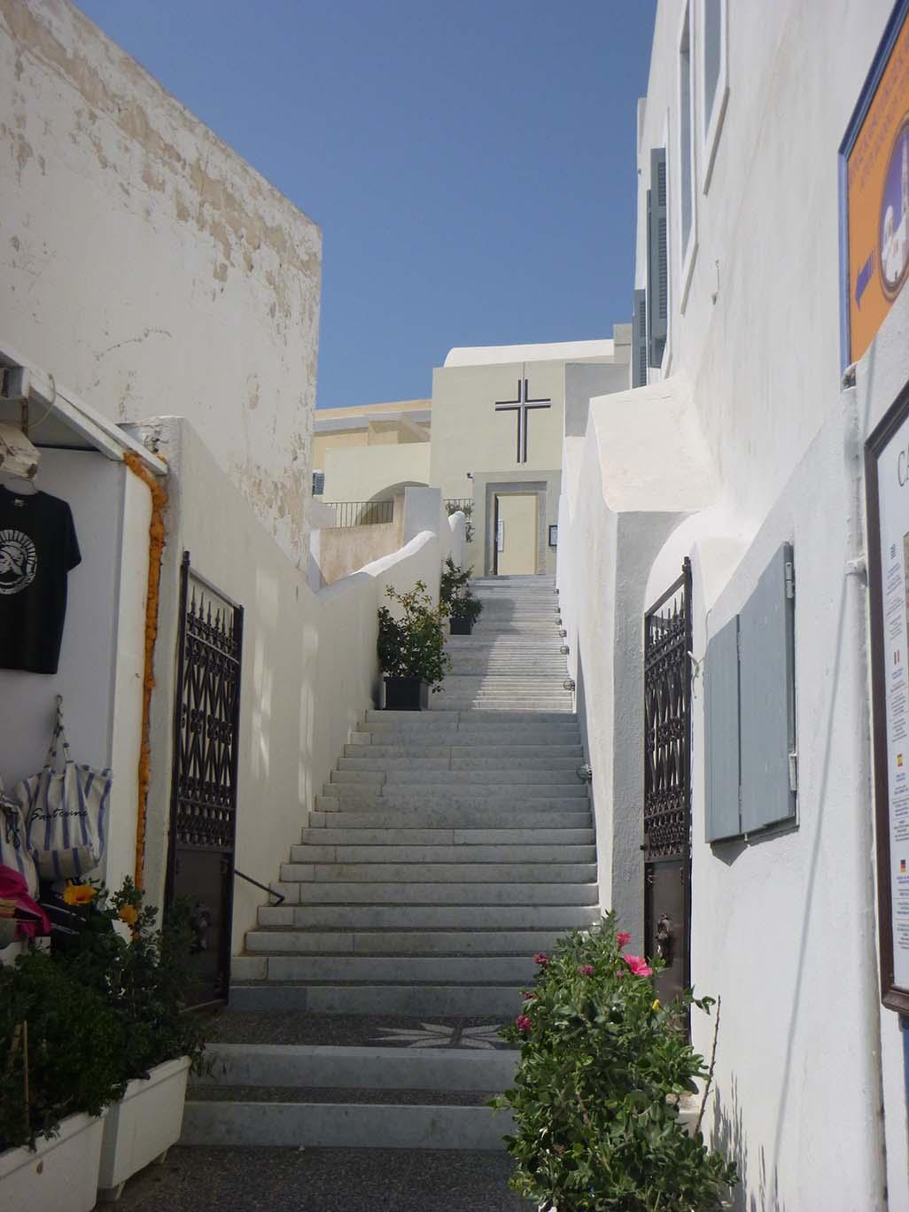 Santorini church in Fier