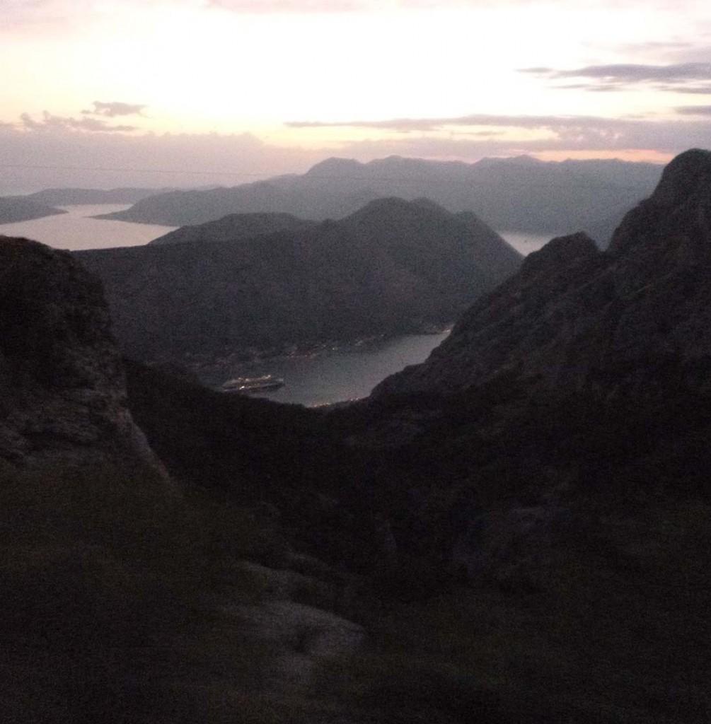 Mediterranean cruise: Montenegro view