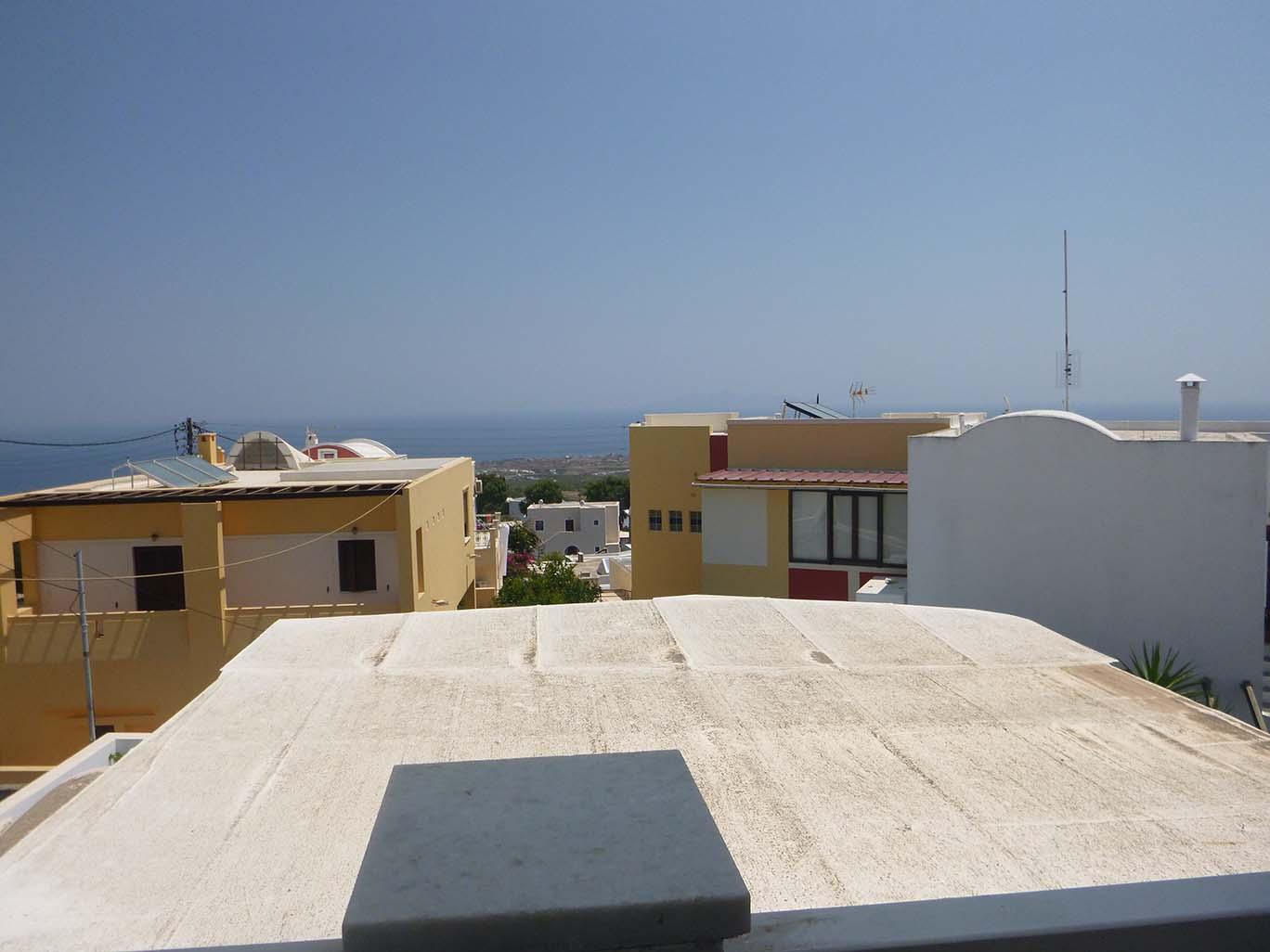 view from Santorini restaurant