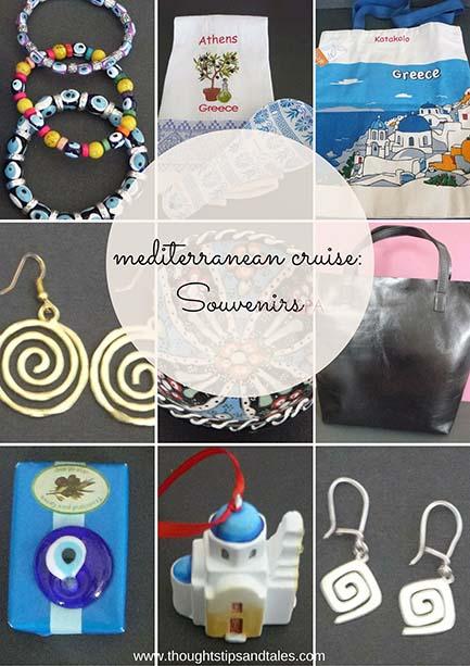 Mediterranean Cruise souvenirs