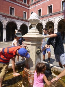 fountain in Venice
