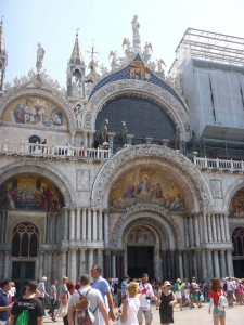 Basilica in St. Marks Square in Venice