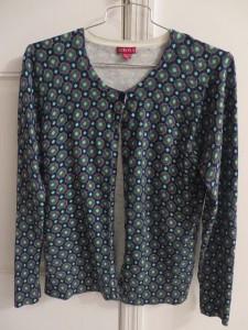 Merona printed cardigan - $3.99 (sold at Target for $20)