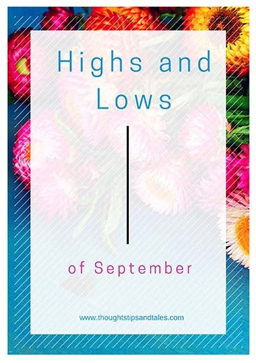 Highs and Lows of September 2015