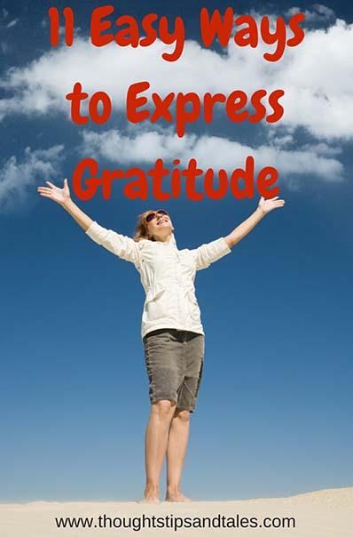 11 easy ways to express gratitude