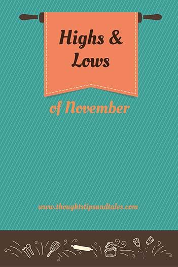 Highs & Low of November 2015