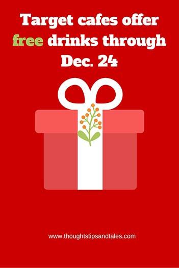 Target offers free drinks through Dec. 24