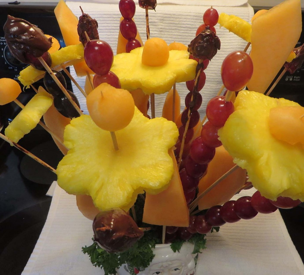 Edible Fruit Bouquets: They're Easy to Make and Fun to Eat