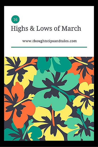 Highs and Lows of March 2016