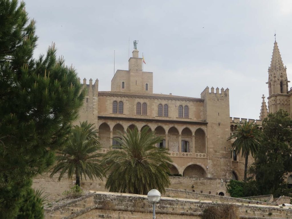 Royal Palace of Almudaina in Palma de Majorca