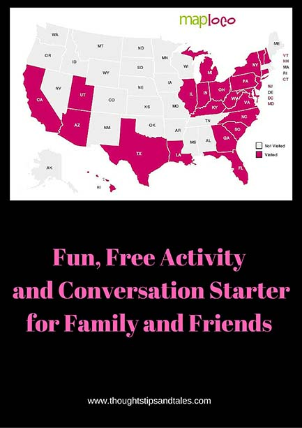 Fun, Free Activity and Conversation Starterfor Family and Friends