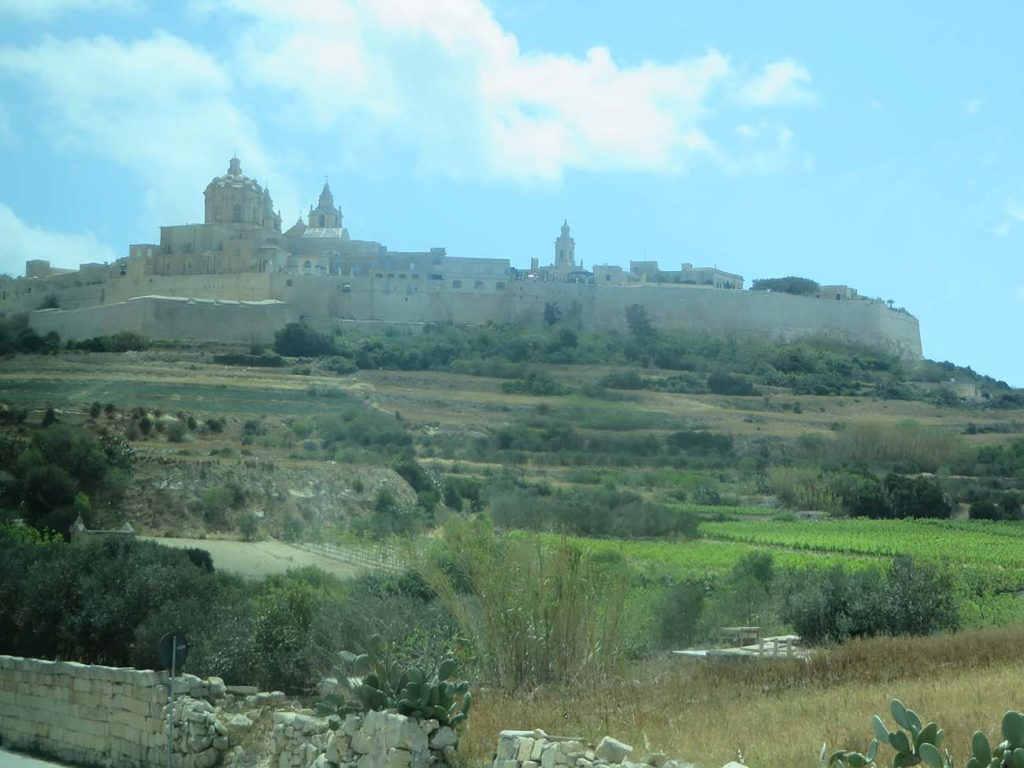 St Pauls Cathedral in Mdina Malta