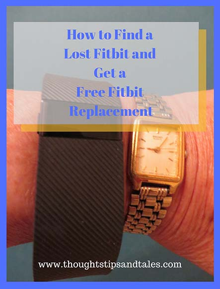 Find Lost Fitbit,  Get a Free Fitbit Replacement