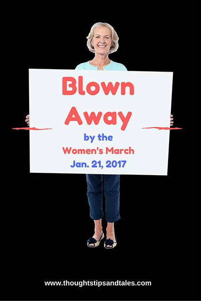 Bown Away by the Women's March Jan 21 2017