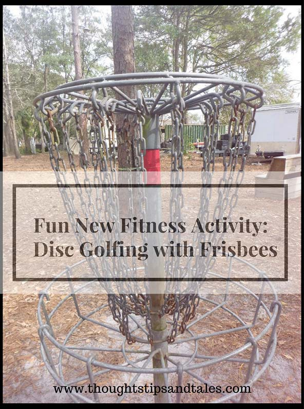 Fun New Fitness Activity Disc Golfing with Frisbees
