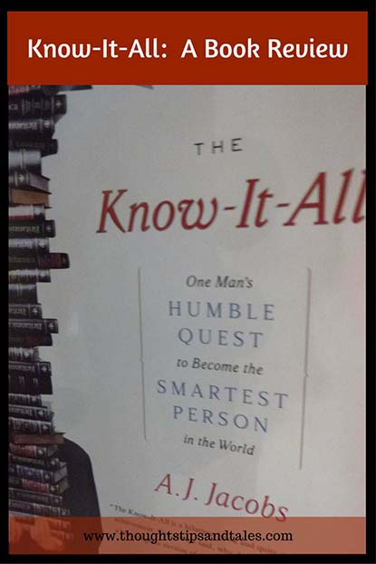 Know-It-All A Book Review