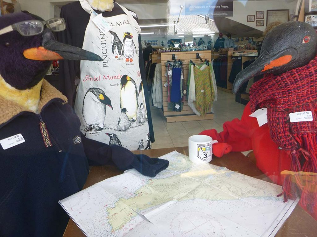 penguin items in Ushuaia, Argentina shops
