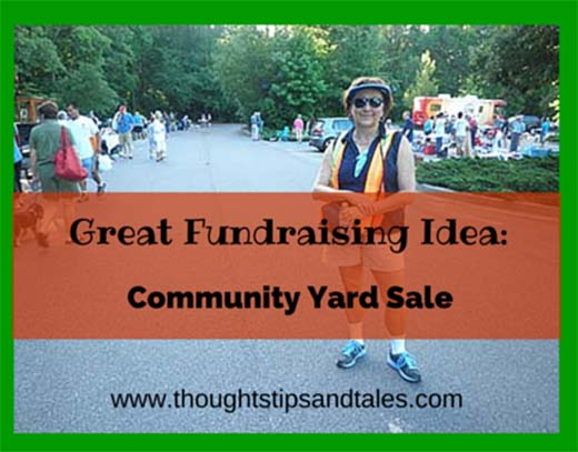 Great Fundraising Idea: Community Yard Sale