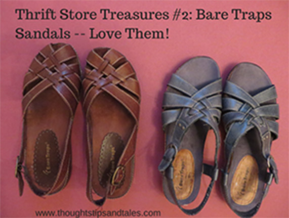 Thrift Store Treaures #2: Bare Traps Sandals -- Love Them!