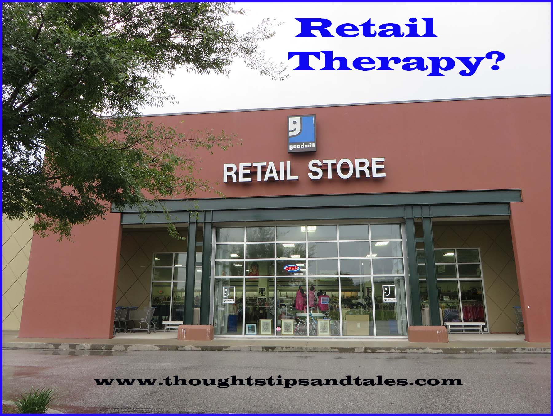 Goodwill retail store