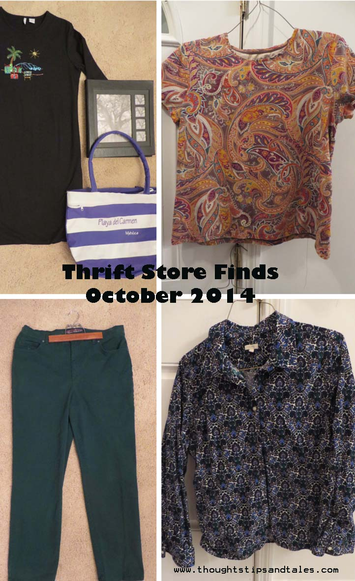 Thrift Store Finds --October 2014