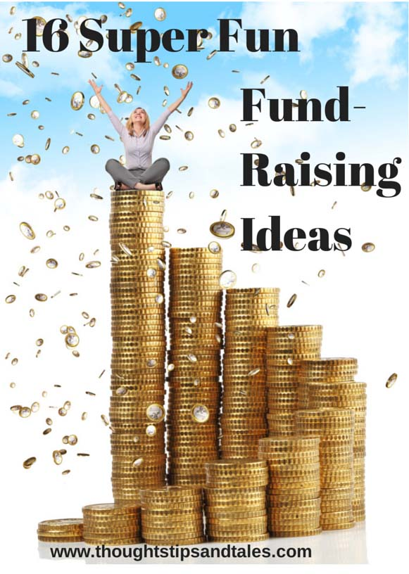 Sixteen Super Fun Fundraising Ideas