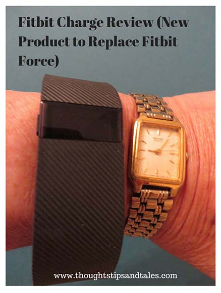 Fitbit Charge Review New Fitbit Product to Replace Fitbit Force