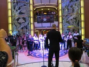 Princess cruise choir