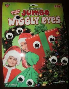 Christmas Jumbo Wiggly Eyes: Cute Holiday Decoration