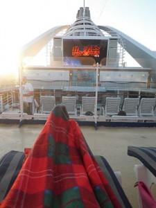Princess cruise outdoor movies