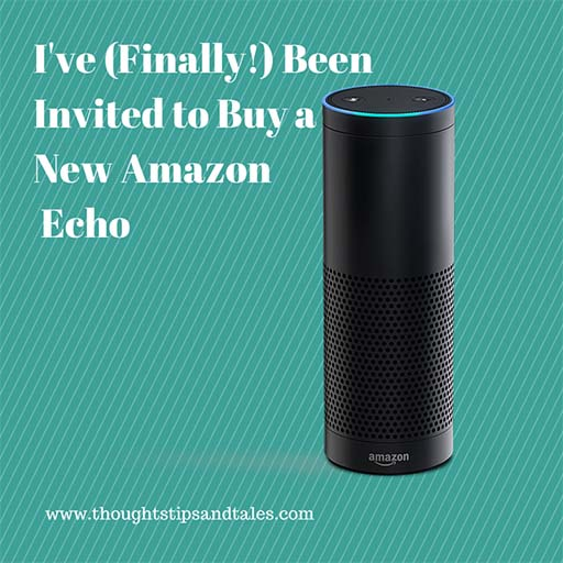 Amazon Echo Invitation to Buy