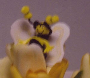 Bumble bee doll