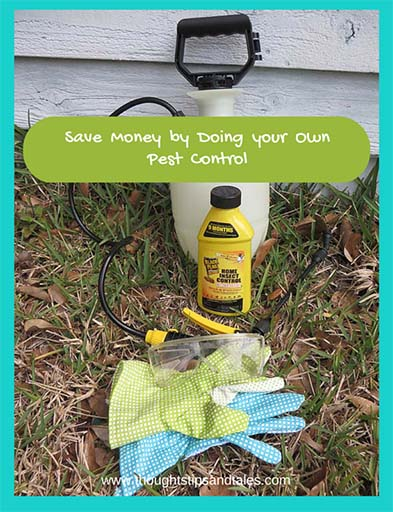 Save Money by doing your own pest control